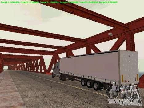 Peterbilt 387 für GTA San Andreas rechten Ansicht