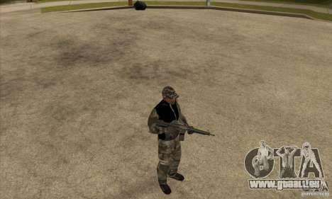 Vêtements de camouflage pour GTA San Andreas troisième écran