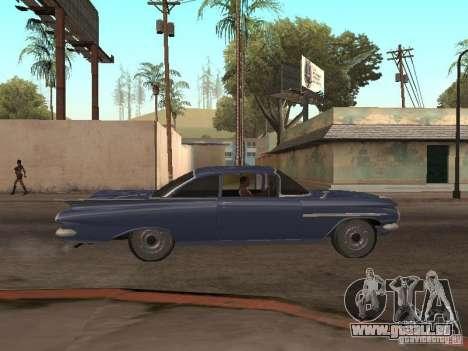 Chevrolet Biscayne 1959 pour GTA San Andreas vue de côté