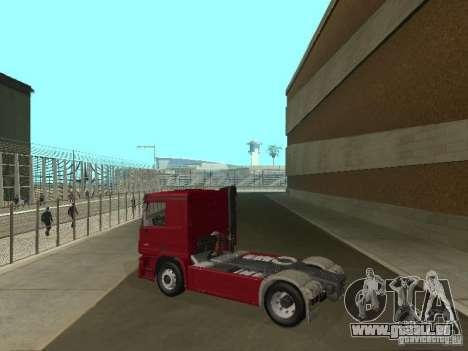 Mercedes Actros Tracteur 3241 pour GTA San Andreas laissé vue
