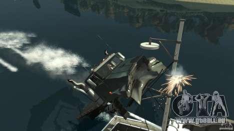 Biff boat pour GTA 4 vue de dessus