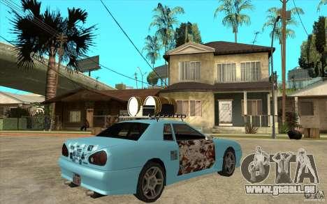 Elegy Rost Style pour GTA San Andreas vue de droite