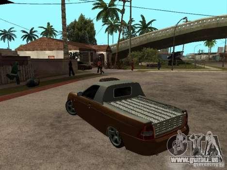 LADA 2170 Pickup für GTA San Andreas linke Ansicht