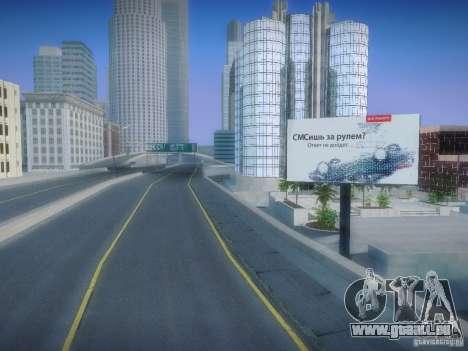 Nouvelles affiches autour de l'État pour GTA San Andreas deuxième écran