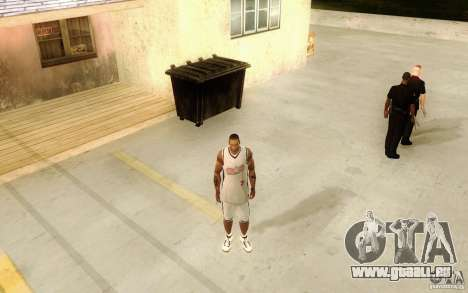 Sombras mais fortes em pedestres pour GTA San Andreas troisième écran