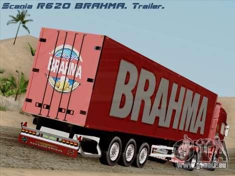 Trailer für Scania R620 Brahma für GTA San Andreas