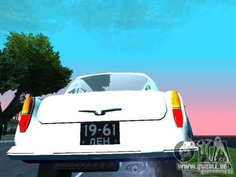 Moskvitsch 403 mit der Polizei für GTA San Andreas rechten Ansicht