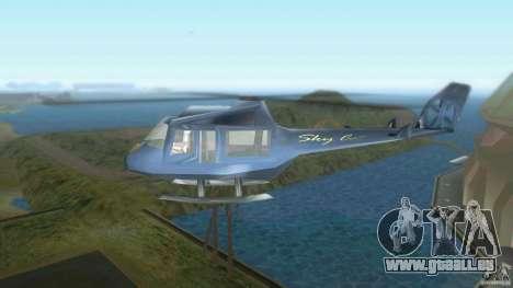 Sky Cat pour une vue GTA Vice City de la gauche