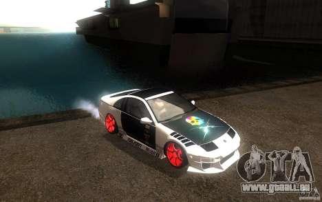 Nissan 300ZX für GTA San Andreas Innenansicht