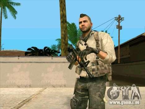 4 Un Mctavish pour GTA San Andreas troisième écran