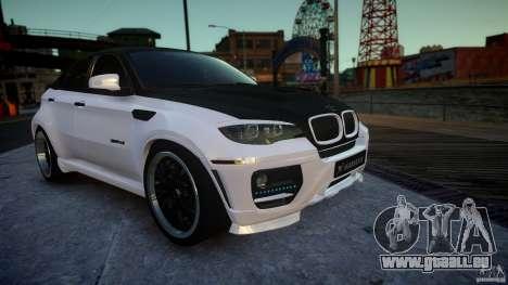 BMW X 6 Hamann pour GTA 4 est un droit