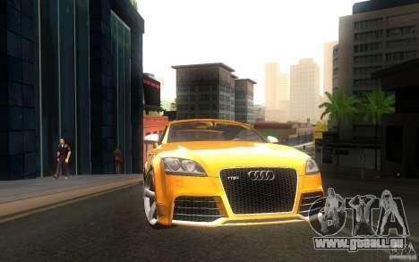 Audi TT RS pour GTA San Andreas sur la vue arrière gauche