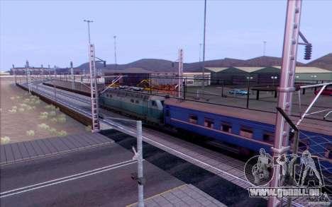 Russische Bahn Version V1. 0 für GTA San Andreas her Screenshot