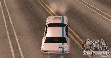 Paintjob for Elegy pour GTA San Andreas vue arrière