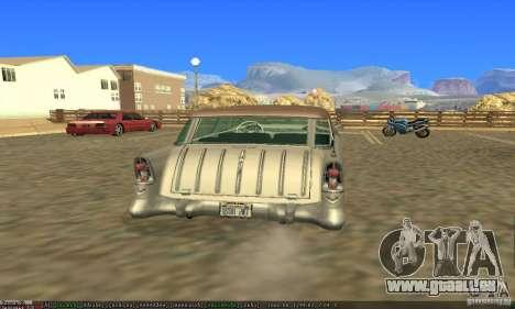 Chevrolet Bel Air Nomad 1956 pour GTA San Andreas laissé vue
