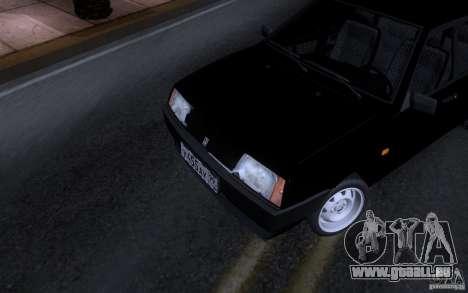 VAZ 21099 Blueline für GTA San Andreas linke Ansicht