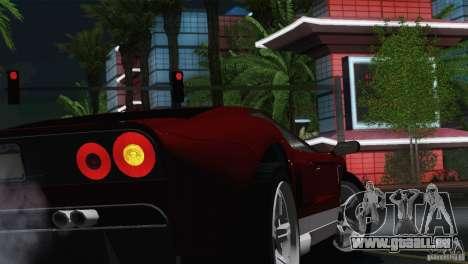 Bullet GT from TBOGT pour GTA San Andreas vue de droite
