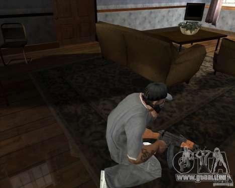 AK-47 aktualisiert für GTA San Andreas dritten Screenshot