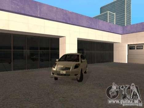 Toyota Yaris Sport 2008 für GTA San Andreas