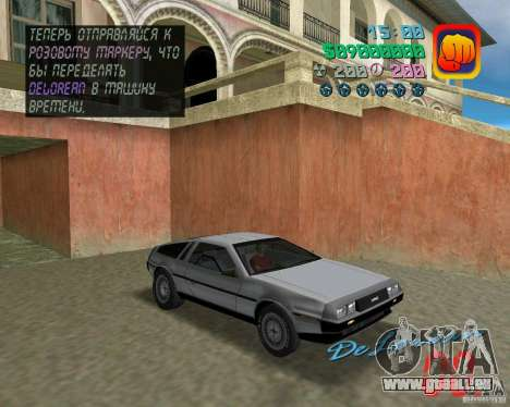 DeLorean DMC 12 pour GTA Vice City