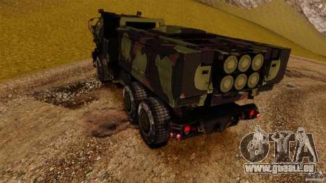 M142 HIMARS pour GTA 4 Vue arrière de la gauche