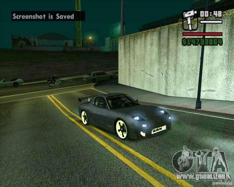 Mazda RX-7 WeaponWar pour GTA San Andreas