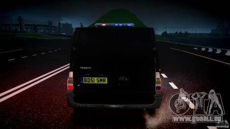 Ford Transit SWAT [ELS] pour GTA 4 Salon