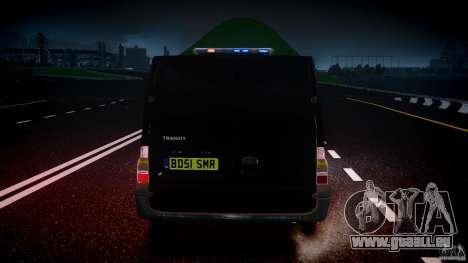 Ford Transit SWAT [ELS] pour GTA 4 Salon