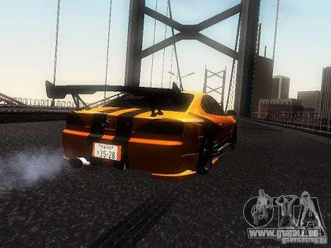 Nissan Silvia S15 ODT pour GTA San Andreas laissé vue