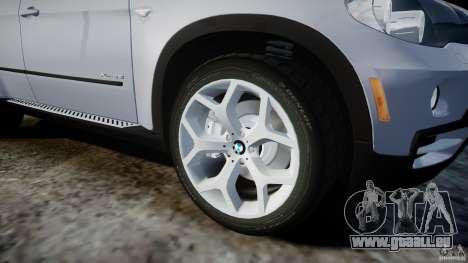 BMW X5 Experience Version 2009 Wheels 214 für GTA 4 Unteransicht