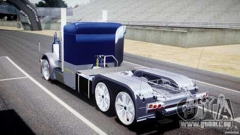 Peterbilt Truck Custom für GTA 4 Seitenansicht
