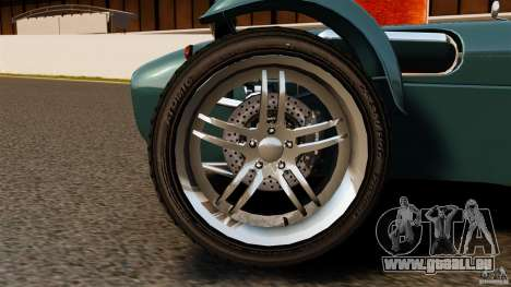 Caterham Superlight R500 für GTA 4 Rückansicht