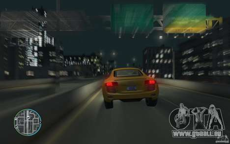 Audi R8 4.2 FSI für GTA 4 linke Ansicht