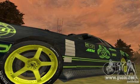 Lime Vinyl For Elegy pour GTA San Andreas vue arrière