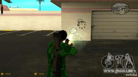 Cs 1.6 HUD v2 pour GTA San Andreas quatrième écran