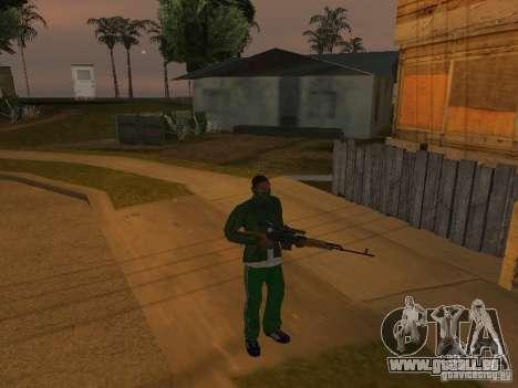Armes de CLEO pour GTA San Andreas troisième écran