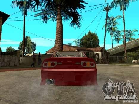 Nissan 240SX DRIFT SPEC für GTA San Andreas zurück linke Ansicht