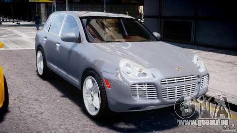 Porsche Cayenne 955 Turbo v1.0 pour GTA 4 est une vue de l'intérieur