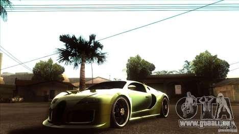 Bugatti Veyron Life Speed für GTA San Andreas