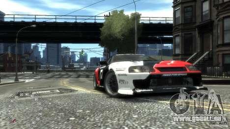 Toyota Supra Fredric Aasbo für GTA 4 rechte Ansicht