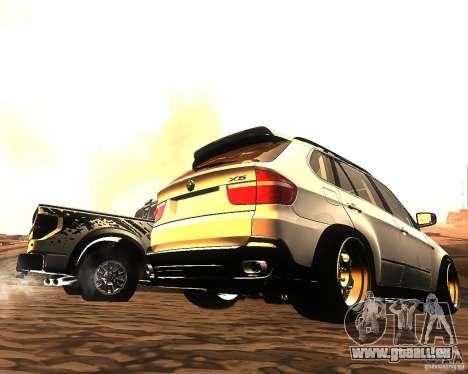 BMW X5 pour GTA San Andreas vue de côté
