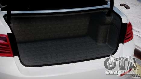 BMW 335i E30 2012 Sport Line v1.0 für GTA 4 Innen