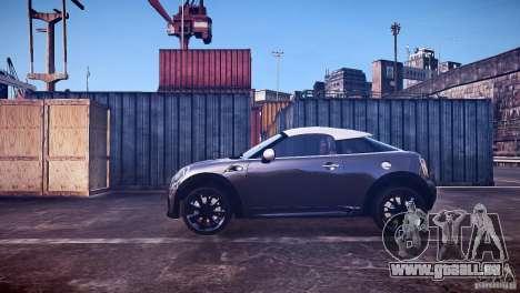 Mini Coupe Concept v0.5 pour GTA 4 est une gauche