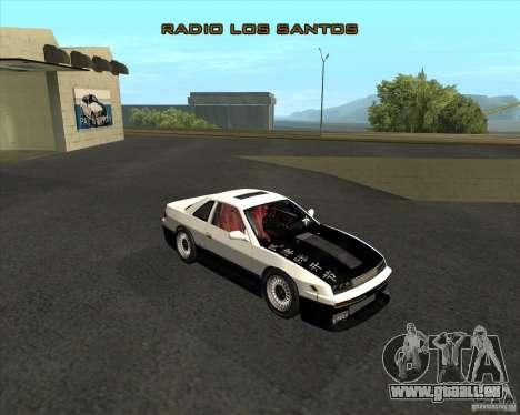Nissan Silvia S13 streets phenomenon pour GTA San Andreas sur la vue arrière gauche