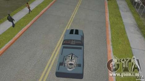 Chevrolet Silverado Mini Truckin 1996 pour GTA San Andreas vue arrière