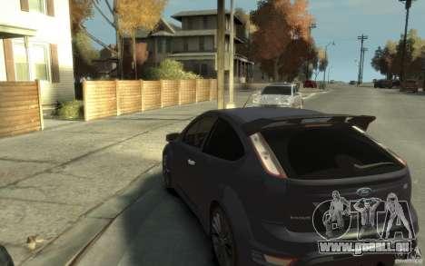 Ford Focus RS 2009 für GTA 4 hinten links Ansicht