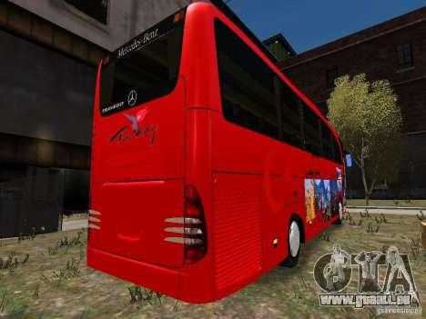 Mercedes Travego für GTA 4 Rückansicht