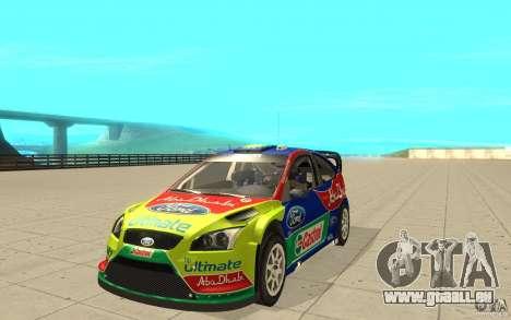 2 Werke für den Ford Focus RS WRC 08 für GTA San Andreas