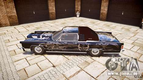Lincoln Continental Town Coupe v1.0 1979 für GTA 4 linke Ansicht
