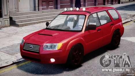 Subaru Forester v2.0 pour GTA 4 est une gauche